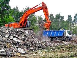 Услуга по вывозу строительного мусора