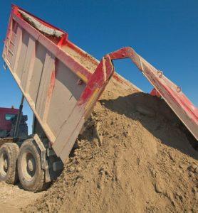 речной песок с доставкой